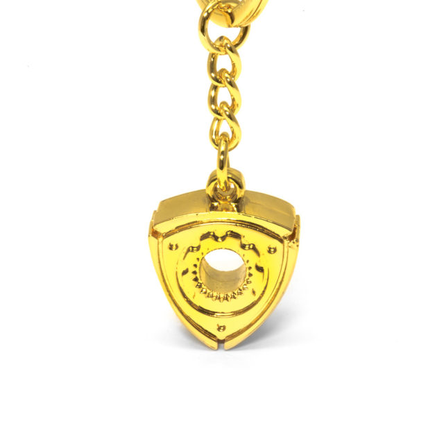 Small Rotary Gold Jdm Tuner Keychain