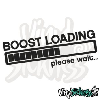 Boost Loading Please Wait Jdm Sticker / Decal