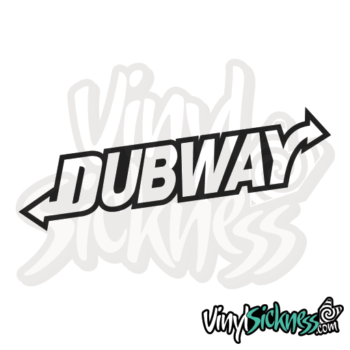 Dub Way Jdm Sticker / Decal