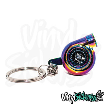 Neochrome Turbo Keychain Jdm Tuner Boost
