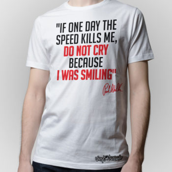 Rip Paul Walker Tribute White Jdm Tuner Shirt