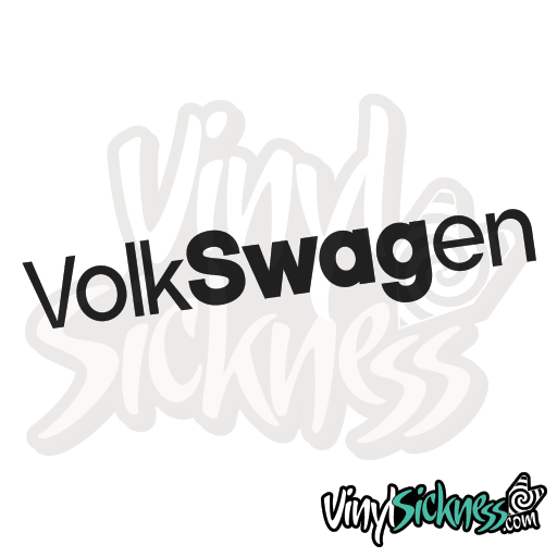 Volkswagen • stickers decals • vinyl sickness