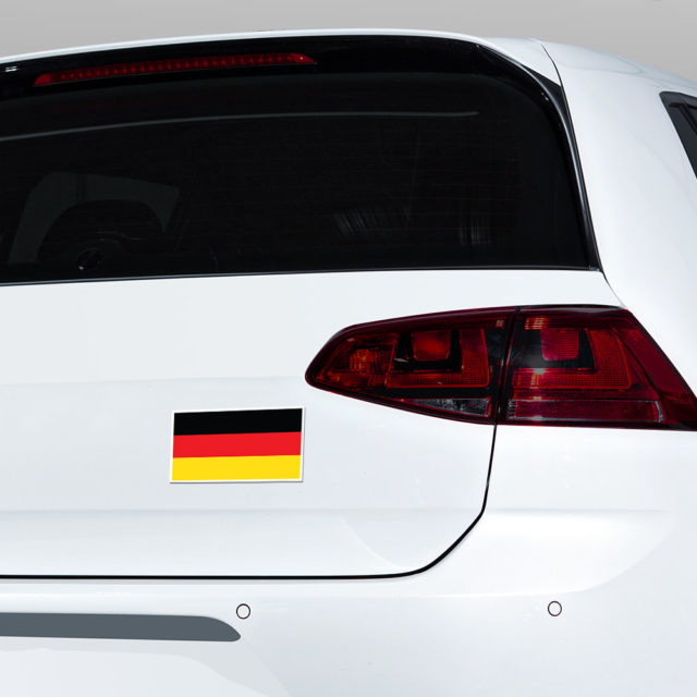 Germany Flag Bumper Jdm Sticker Decal