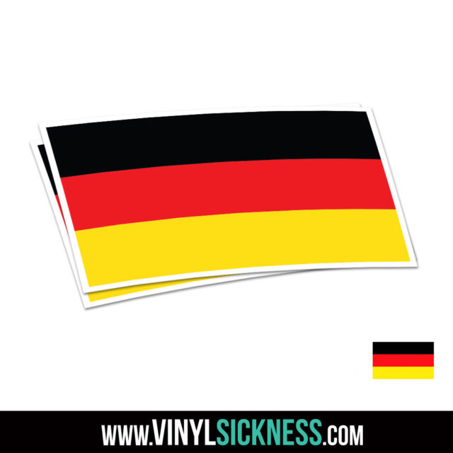 Germany Flag Jdm Sticker Decal